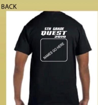 Back of TShirt